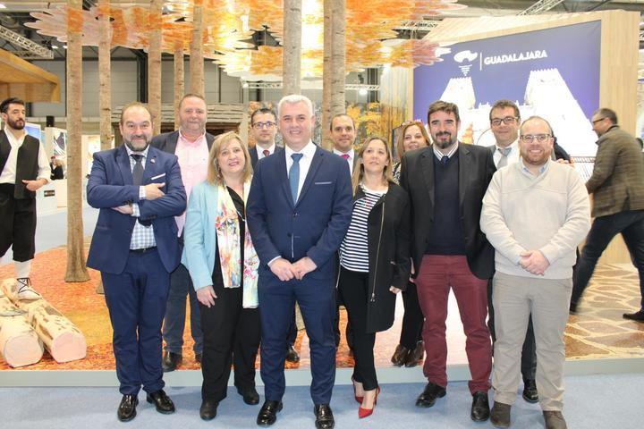 CEOE-CEPYME Guadalajara asite a la inauguración del stand de Castilla La Mancha en FITUR