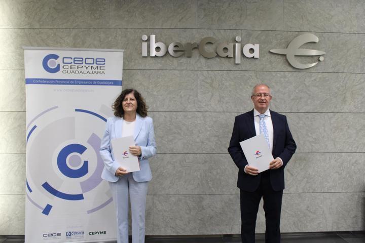 CEOE-CEPYME Guadalajara e IberCaja continúan su colaboración...un año más