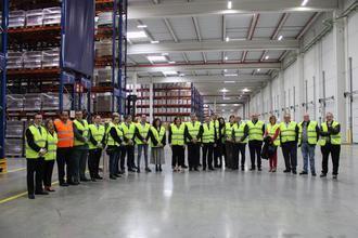 CEOE-CEPYME Guadalajara inaugura, en colaboración con DSV, un nuevo Centro de Formación Logístico