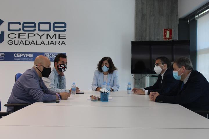 CEOE-CEPYME Guadalajara y los sindicatos UGT y CCOO reivindican la importancia del diálogo social