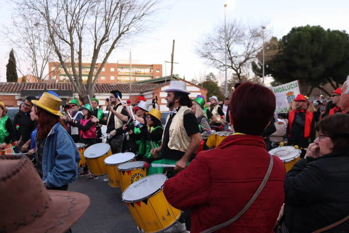 Las actividades de Carnaval han llenado este fin de semana la carpa del Centro de Ocio de Azuqueca