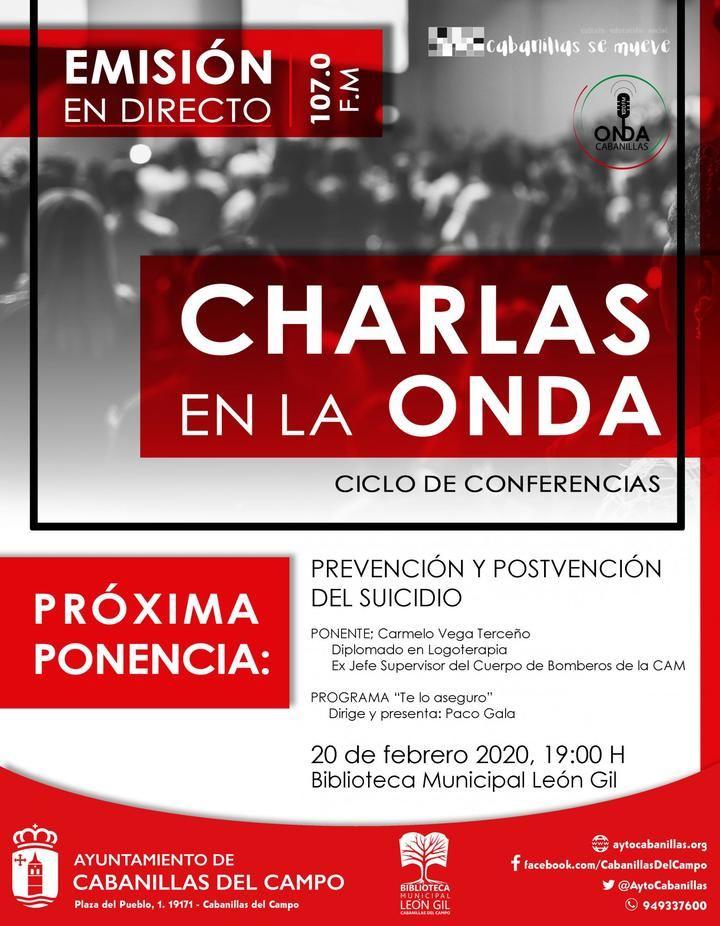 """Onda Cabanillas lanza las """"Charlas en la Onda"""": coloquios radiados desde la Biblioteca, y organizados por los programas de la emisora"""