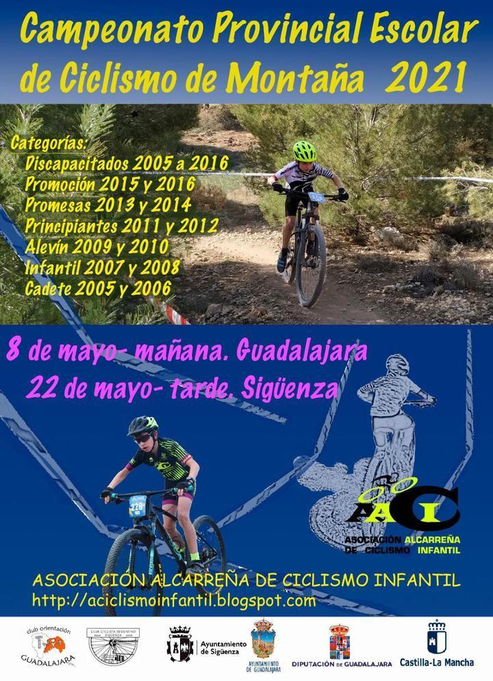 El próximo 22 de mayo, Campeonato Provincial de Ciclismo de Montaña en Sigüenza