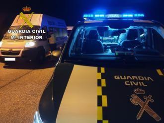 La Guardia Civil de Guadalajara investiga a una persona por carecer de permiso de conducción y por denuncia falsa