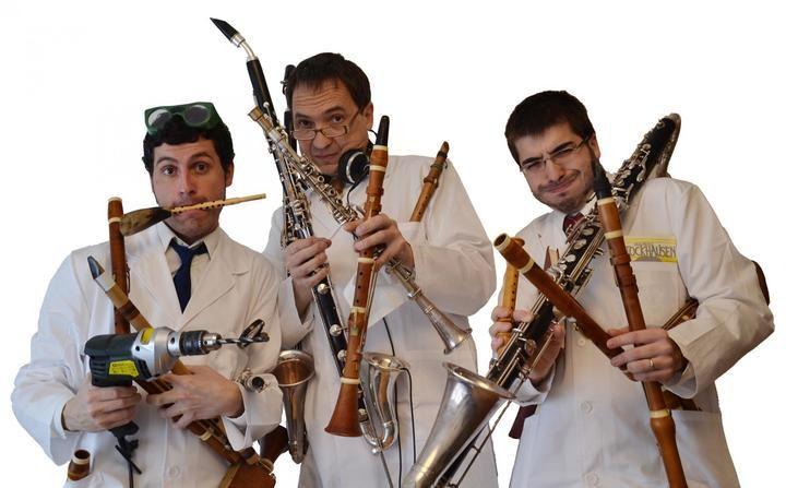"""Unos 1.200 escolares asisten en Guadalajara al espectáculo familiar Clarinetarium, organizado por """"la Caixa"""""""