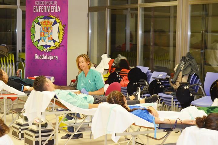 Nuevo éxito del IV Maratón de Donación de Sangre del Colegio de Enfermería de Guadalajara