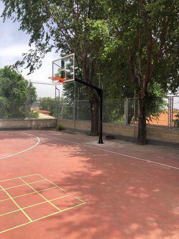El Ayuntamiento de Cogolludo solicita que se cambie la ubicación de unas canastas en el CRA La Encina