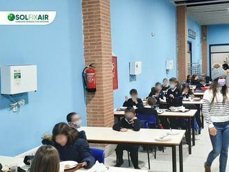 El Colegio Santo Tomás de Aquino lucha contra la COVID con tecnología de Guadalajara