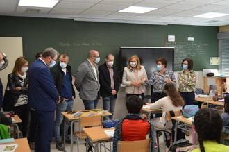 Yunquera de Henares inaugura la ampliación de su Colegio Público Número 3