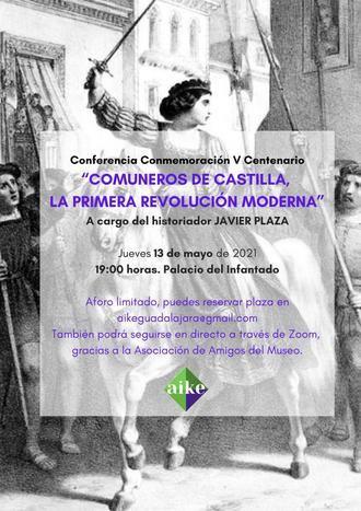 AIKE organiza una Conferencia para celebrar el V Centenario de la Revolución de los Comuneros