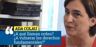 La comunista Ada Colau justifica la pitada al himno en la final de Copa del Rey