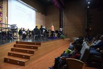 Cerca de un millar de escolares han participado en los VI Conciertos Pedagógicos de la Banda de la Diputación de Guadalajara