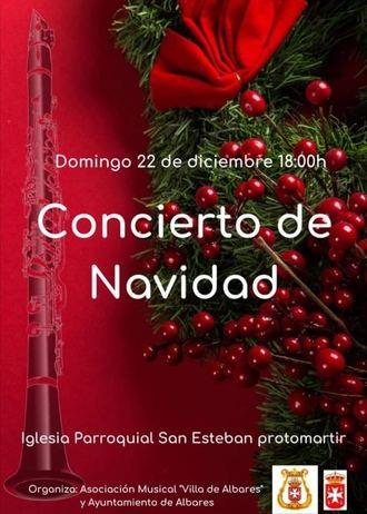 Concierto de Navidad en Albares