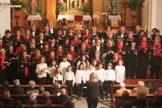 Un espectacular Concierto de Navidad llenó hasta los topes la Iglesia de Cabanillas