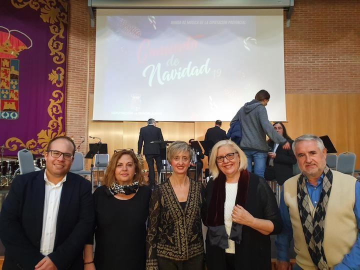 """Extraordinario """"Concierto de Navidad"""" de Banda de Música de la Diputación de Guadalajara"""
