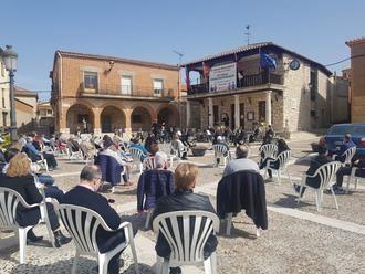 La Banda de Música de la Diputación retomó sus actuaciones en público con un magnífico concierto en Torija