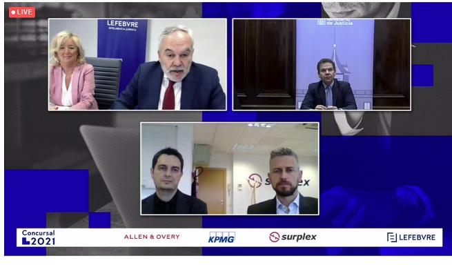 """José Miguel Bueno, subsecretario de Justicia: """"La transposición de la Directiva Europea va a incluir medidas de eficiencia organizativa, procesal y digital en el ámbito concursal"""""""