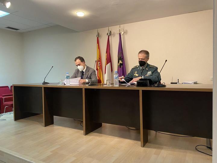 La Guardia Civil y el Colegio Oficial de Farmacéuticos de Toledo firman un convenio de colaboración en materia de seguridad