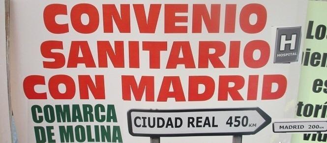 EL CAOS DE LA SANIDAD DE PAGE EN CLM : Piden al Gobierno regional que cumpla el Convenio Sanitario con Madrid porque la atención sanitaria en Guadalajara es prácticamente insostenible
