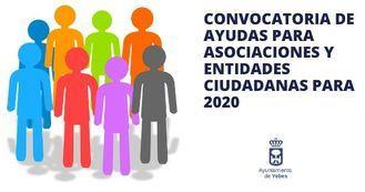 El Ayuntamiento de Yebes repartirá 7.000 euros entre las asociaciones y entidades ciudadanas del municipio