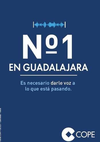 COPE Guadalajara hace de nuevo historia: Nº1 de la radio en la provincia