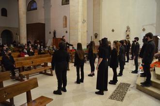 La Iglesia de San Pedro de Yunquera de Henares acogió el Concierto de Navidad del Coro 'Las Veredas'
