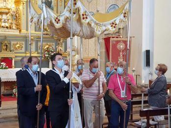 Emotiva fiesta del Corpus en Almonacid de Zorita