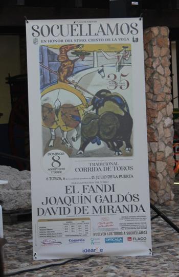 """'El Fandi', Joaquín Galdós y David de Miranda compondrán un cartel """"de lujo"""" el 8 agosto por las fiestas de Socuéllamos"""