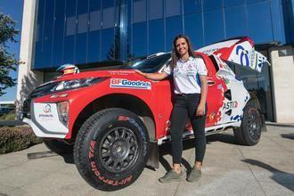 Cristina Gutiérrez apunta al top 25 en el Dakar peruano