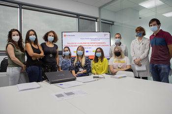 La empresa MIXER & PACK, con sede en Guadalajara, se forma en igualdad de la mano de Cruz Roja