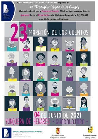 Yunquera de Henares celebrará su 23º Maratón Viajero de los Cuentos el próximo 4 de junio