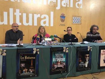 Tres nuevos ciclos culturales marcan la programación de febrero y marzo del Patronato de Cultura del Ayuntamiento de Guadalajara