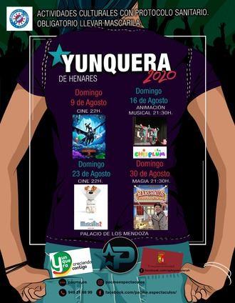 El Palacio de los Mendoza de Yunquera de Henares acoge diferentes actividades culturales durante los domingos de agosto