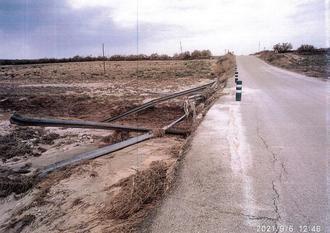 La Diputación invierte 85.000 € en reparar daños de la DANA en la carretera GU-249 (Illana-Almoguera)
