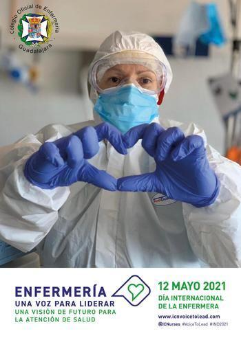 El Colegio de Enfermería de Guadalajara rendirá homenaje a los profesionales sanitarios fallecidos por el COVID-19 en el Día Internacional de la Enfermería