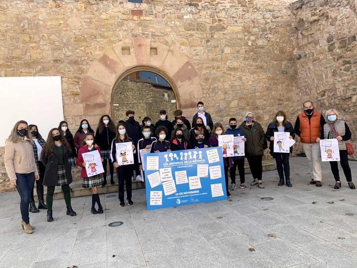 Pleno infantil en Sigüenza con motivo del Día Universal de la Infancia