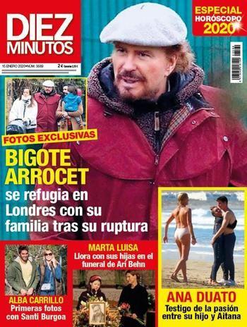 DIEZ MINUTOS ¡Gloria Camila hace oficial su nueva relación!