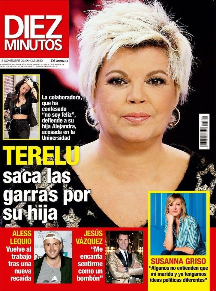 DIEZ MINUTOS María Patiño tiene un admirador secreto y es muy famoso