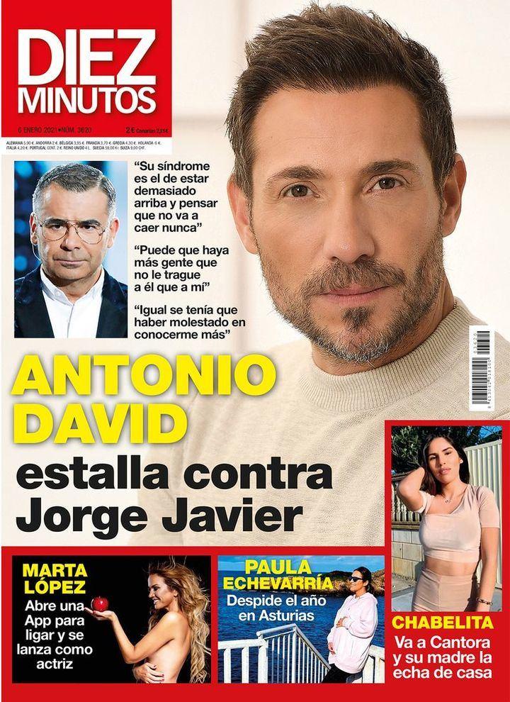 DIEZ MINUTOS Antonio David Flores estalla contra Jorge Javier Vázquez