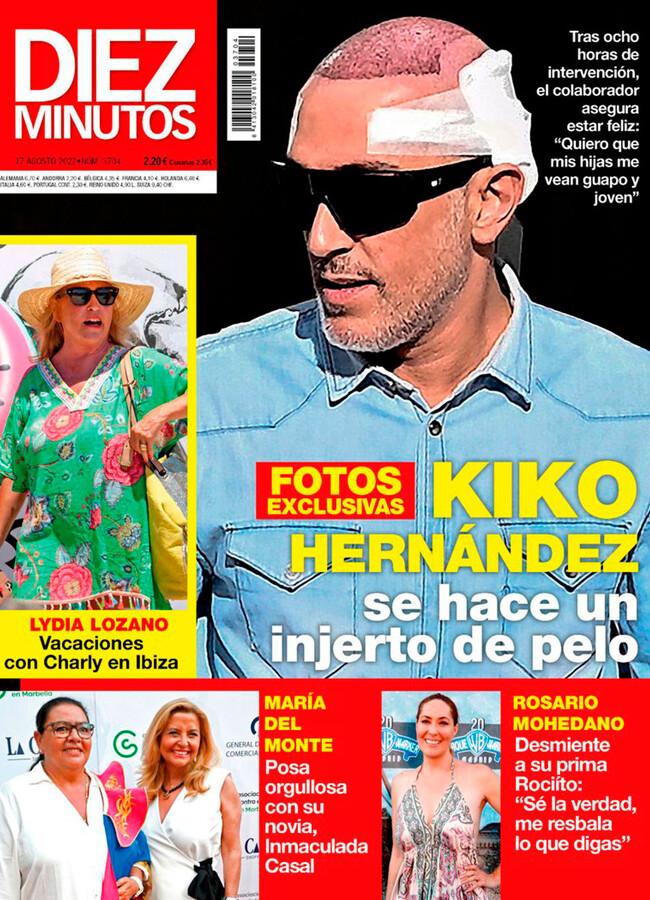 DIEZ MINUTOS 'Sálvame' se despide de su gran compañera Mila Ximénez