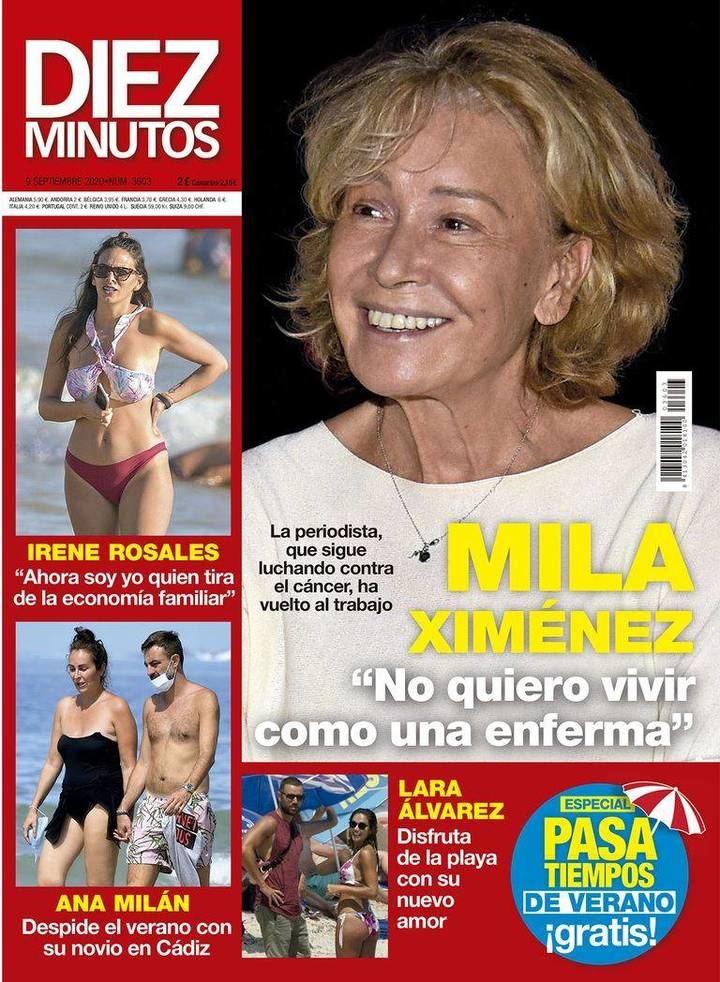 DIEZ MINUTOS Nagore Robles y Sandra Barneda han sido mamás...