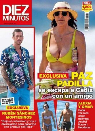 DIEZ MINUTOS Paz Padilla asegura que bailar ayuda a quitar las penas
