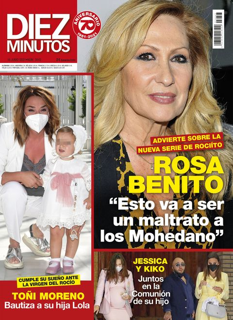 """DIEZ MINUTOS Marta Peñate confiesa que tuvo problemas con las drogas: """"Me cuesta hablar del tema"""""""