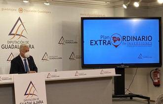 La Diputación de Guadalajara asigna 6.517.000 € del Plan de Inversiones a 407 núcleos de población menores de 1.000 habitantes