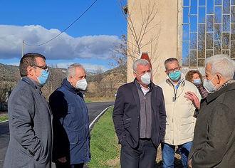 La Diputación de Guadalajara lleva invertidos 1,3 millones de euros en la carretera que conecta Horche, Yebes y Valdarachas
