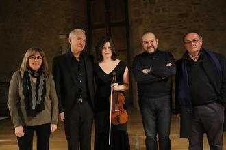 El dúo Zorina (violín)-Biancotti (violonchelo) cierra el año musical de Sigüenza