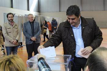 """Echániz asegura en Guadalajara que """"hoy los españoles pueden desbloquear una situación política que nadie desea y que impide que España pueda desarrollar todos sus proyectos"""""""