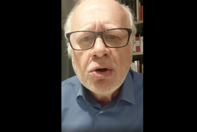 """El actor Juan Echanove se lo deja muy clarito al ministro socialista de Cultura de España : """"Pero, ¿de qué vas? Hazte ministro de Deportes, coño, que es lo tuyo"""""""