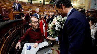 El portavoz de Podemos Pablo Echenique, condenado a pagar 11.040 euros por la contratación irregular de su asistente,