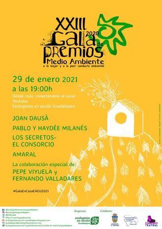 El ferroviario Pedro Rubio, Guadalajara Antitaurina y la agricultora Paulina Belinchón, premiados con las mejores conductas medioambientales de 2020